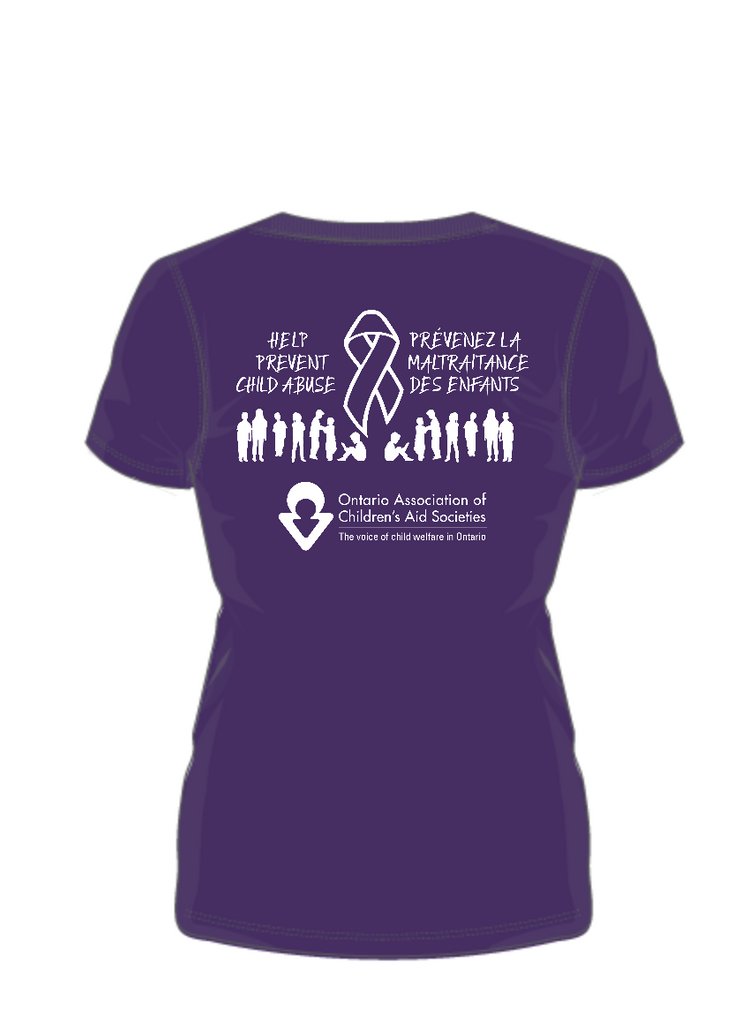 October is Child Abuse Prevention Month – GO PURPLE DAY-OACAS Campaign