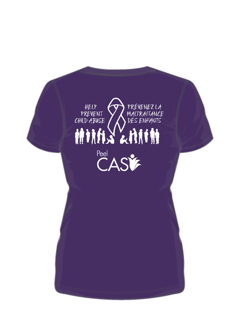 October is Child Abuse Prevention Month-GO PURPLE DAY-PEEL CAS Campaign