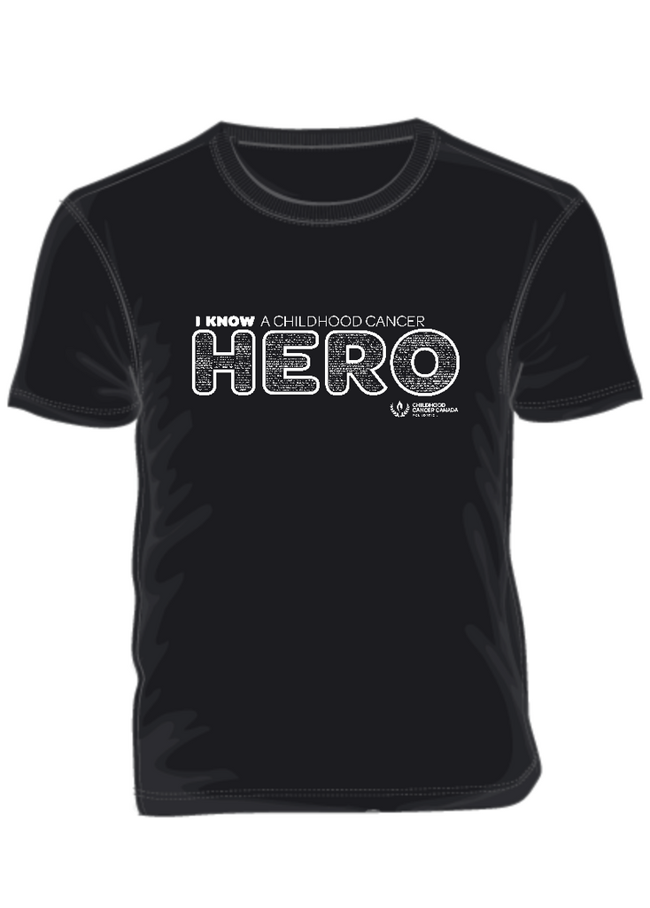 I KNOW a Childhood Cancer HERO September Campaign