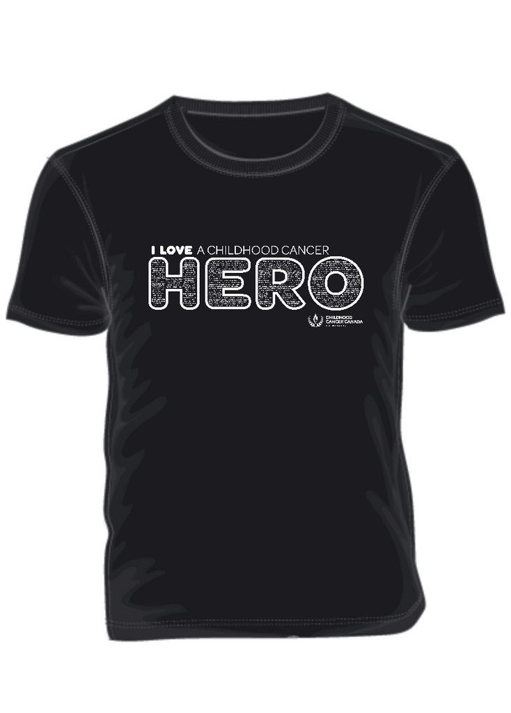 I LOVE a Childhood Cancer HERO-September Campaign