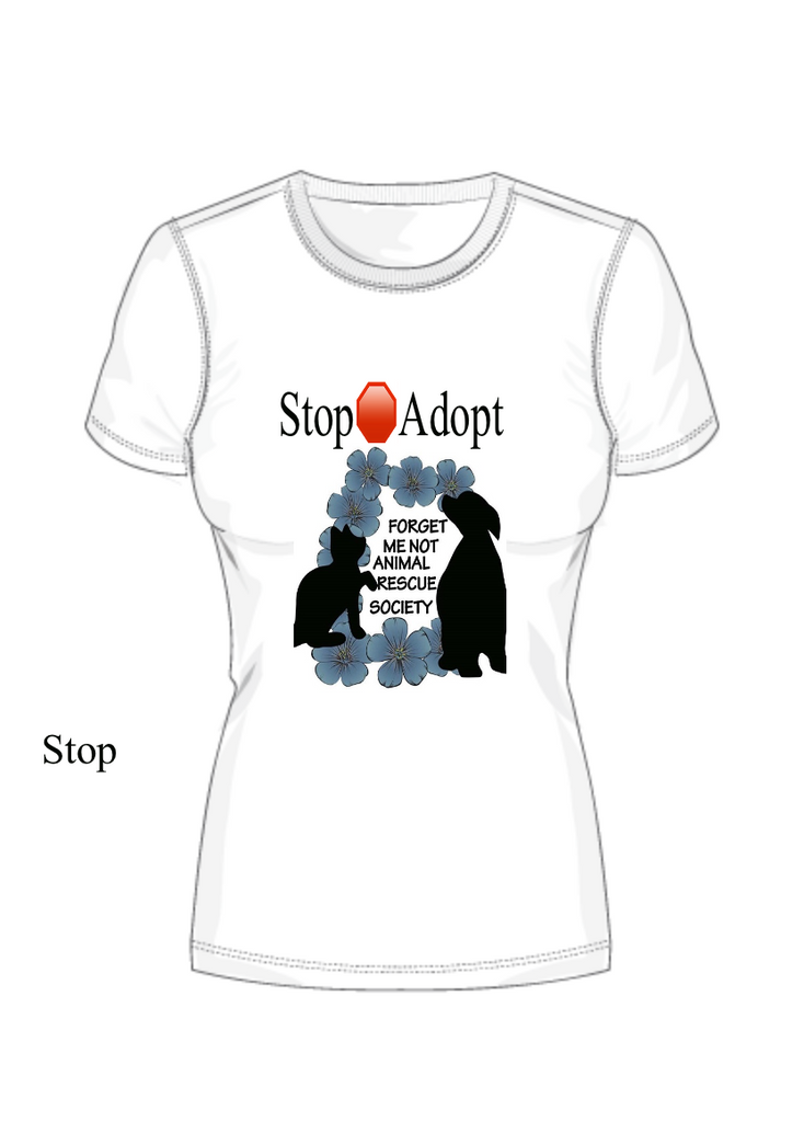 Forget Me Not Animal Rescue t-shirt fundraiser