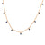 Kravit Jewelers 18k Rose Gold Sapphire Dangle Necklace