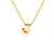 Kravit Jewelers 14k Gold Diamond Initial Pendant