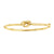 Kravit Jewelers 14k Yellow Gold Knot Bangle Bracelet
