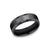 Benchmark Black Titanium Men's Wedding Band-7.0mm