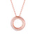 Vedantti The Circle Slim Pendant