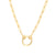 Kravit Jewelers 14k Yellow Gold Link & Pushlock Necklace