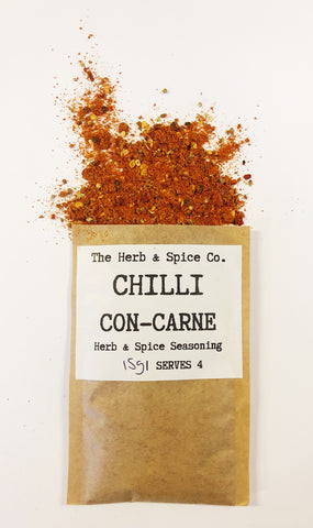 Chilli Con Carne The Herb & Spice Co. Seasoning Blend Herbs Spices Recipe Mix