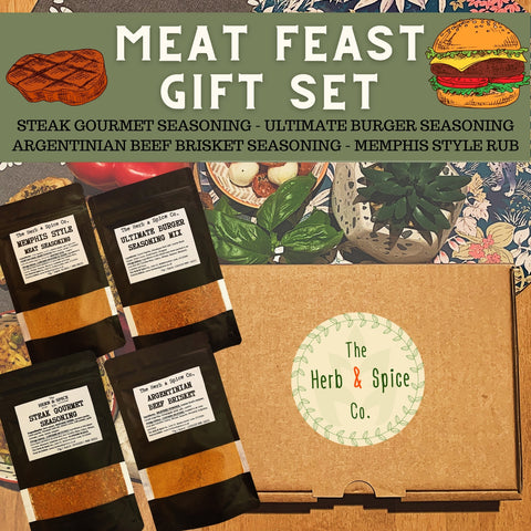 Meat Feast Seasoning Gift Set The Herb & Spice Co.
