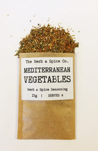 Mediterranean Vegetables Blackened Chilli Salmon Seasoning The Herb & Spice Co. Seasoning Blend Herbs Spices Recipe Mix
