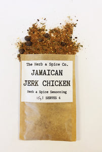 Jamaican Jerk Chicken The Herb & Spice Co. Seasoning Blend Herbs Spices Recipe Mix