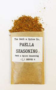 Paella Seasoning The Herb & Spice Co. Seasoning Blend Herbs Spices Recipe Mix