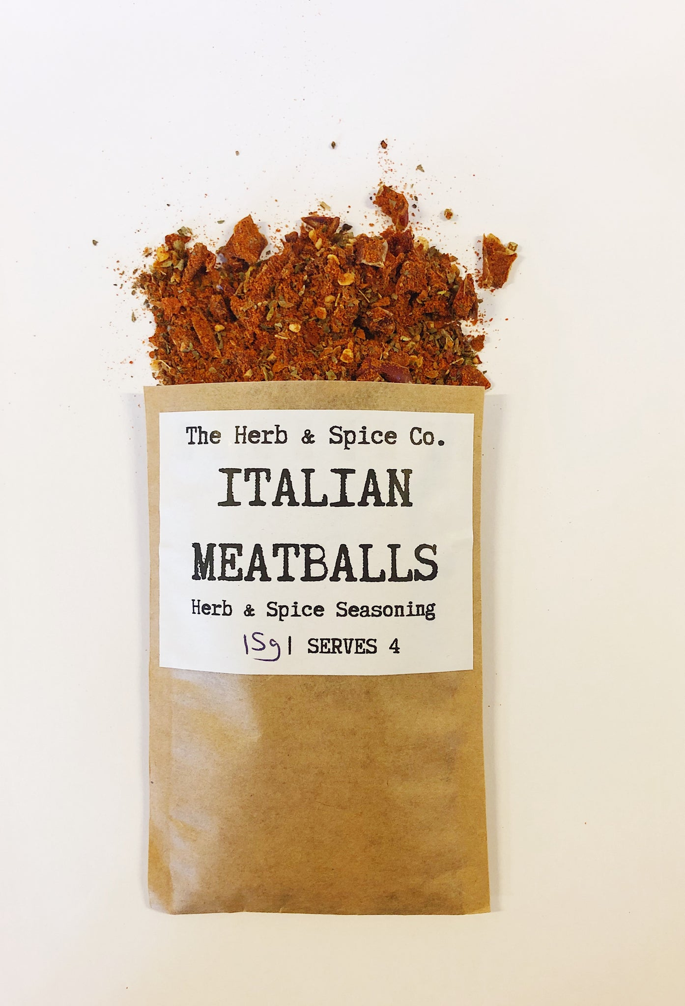 Italian Meatballs The Herb & Spice Co. Seasoning Blend Herbs Spices Recipe MixItalian Meatballs The Herb & Spice Co. Seasoning Blend Herbs Spices Recipe Mix