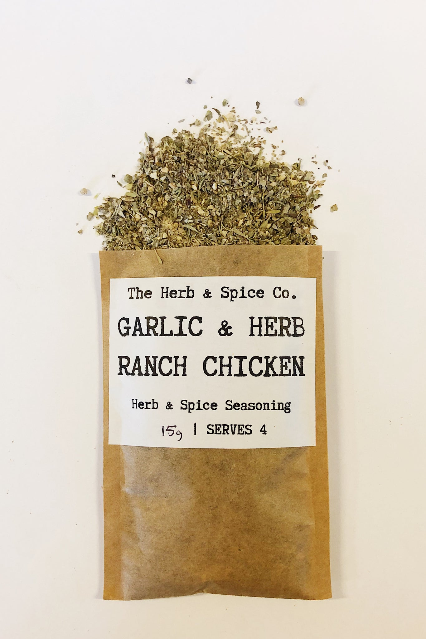 Garlic and Herb Ranch Chicken Slimming World Seasoning The Herb & Spice Co. Seasoning Blend Herbs Spices Recipe Mix