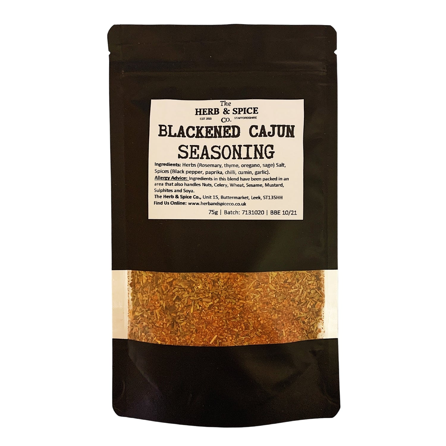 blackened cajun seasoning The Herb & Spice Co.