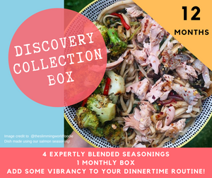 Twelve Month Discovery Collection Recipe Kit Subscription Box
