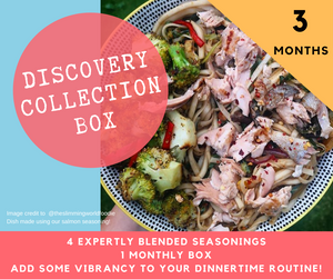 Three Month Discovery Collection Recipe Kit Subscription Box