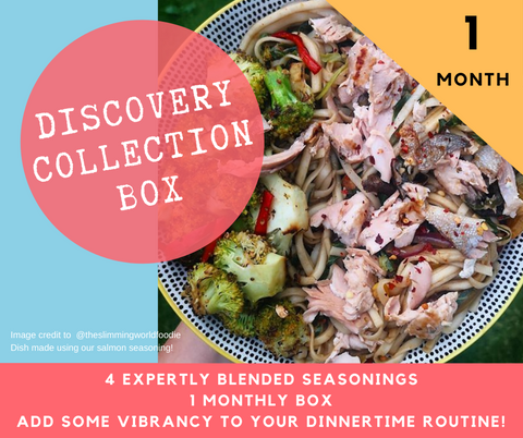 One Month Discovery Collection Recipe Kit Subscription Box