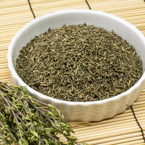 Buy Dried Thyme Cut Herb Online The Herb And Spice Co