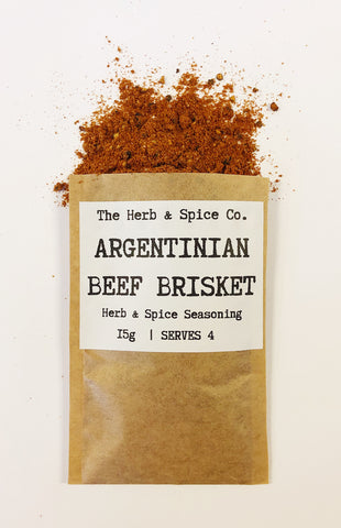 Argentinian Beef Brisket Seasoning The Herb & Spice Co. Seasoning Blend Herbs Spices Recipe Mix