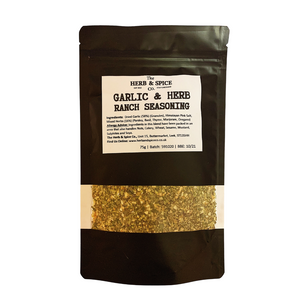 Garlic & Herb Ranch Seasoning The Herb & Spice Co.
