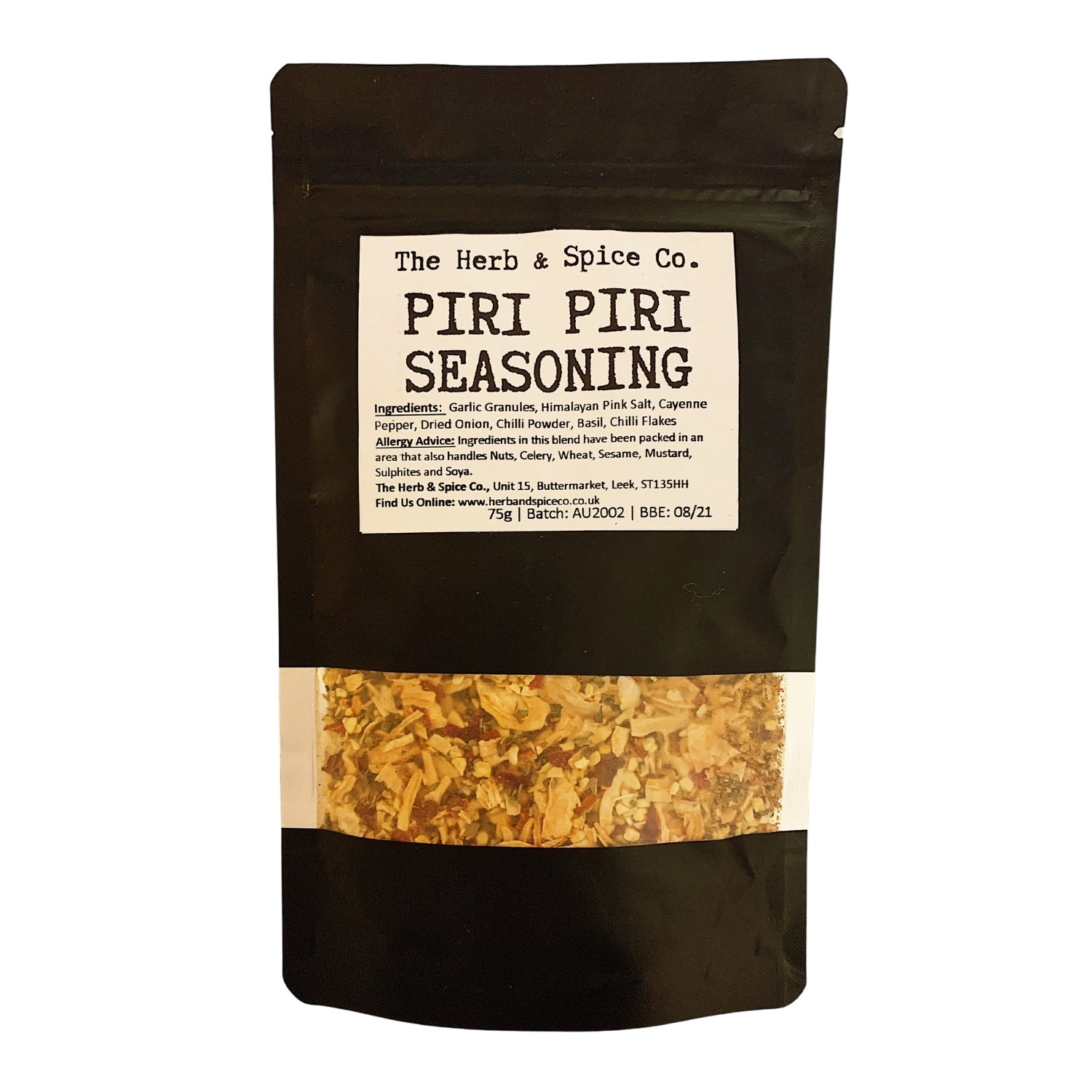 Piri Piri Spice Blend Piri Seasoning The Herb & Spice Co.