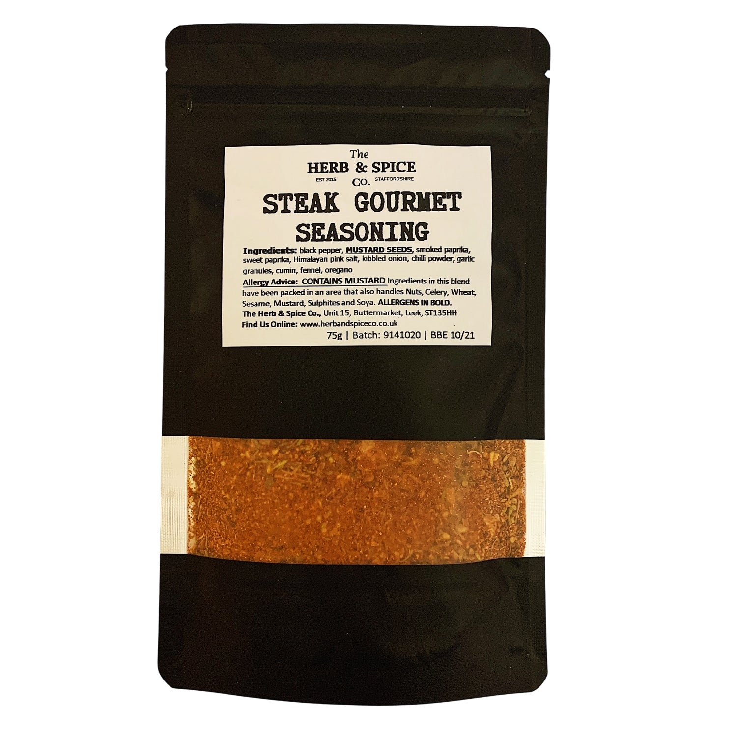 Steak Rub Steak Seasoning The Herb & Spice Co.