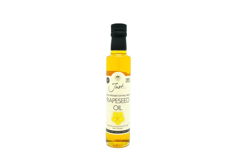 Just Cold Pressed Extra Virgin Rapeseed Oil – 250ml