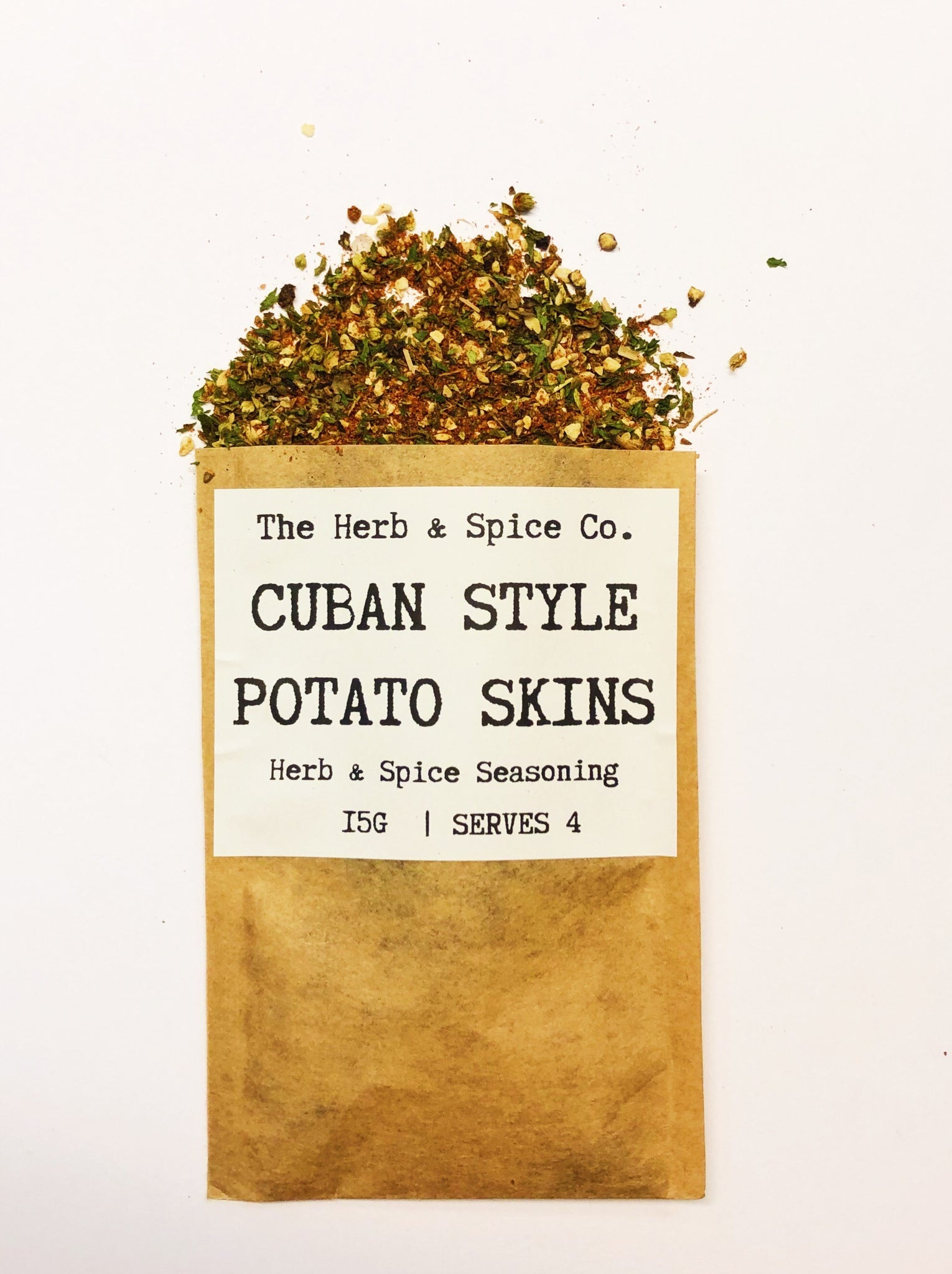 Cuban Style Potato Skins The Herb & Spice Co. Recipe