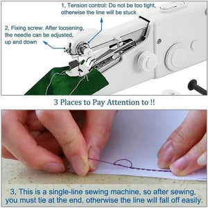 Portable Handheld Sewing Machine-50% OFF