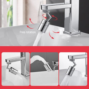 Universal Splash Filter Faucet - 720° Rotate Water Outlet Faucet