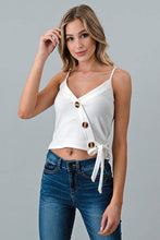 Load image into Gallery viewer, Jess Button Tank - Sublime Clothing Boutique