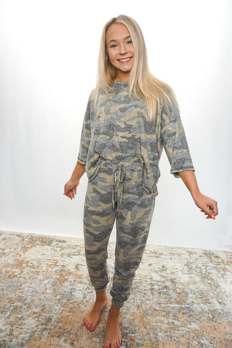 Clio Camo Set - Sublime Clothing Boutique