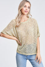 Load image into Gallery viewer, Maisy Rolled Sleeve Blouse