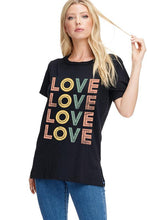 Load image into Gallery viewer, Love Love Tee - Sublime Clothing Boutique