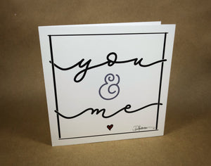 Pamela Anderson White Cursive Greeting Cards - Sublime Clothing Boutique