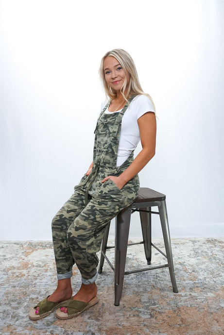 Lenny Camo Overall - Sublime Clothing Boutique