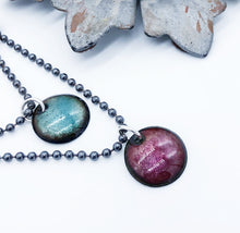 Load image into Gallery viewer, Layering Enamel Disc Necklace - Sublime Clothing Boutique