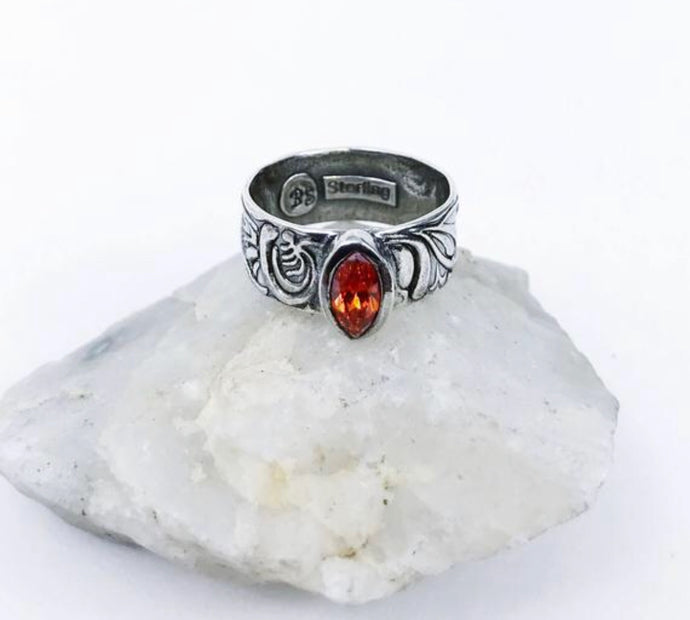 Burnt Orange Ring - Sublime Clothing Boutique