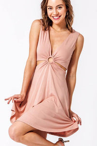 Skater Cut-Out Dress - Sublime Clothing Boutique