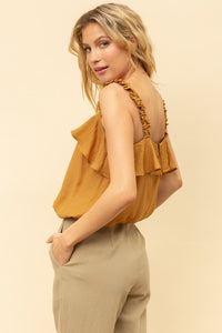 Carissa Ruffle Tank - Sublime Clothing Boutique