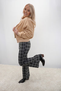 Carlita Checkered Flare - Sublime Clothing Boutique