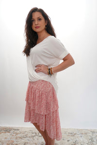 Shiloh Tiered Skirt - Sublime Clothing Boutique