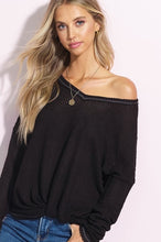 Load image into Gallery viewer, Darby Waffle Sweater Top - Sublime Clothing Boutique