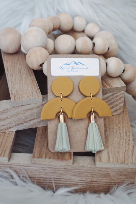 Tassel Dreams Clay Earrings