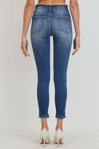 Rayney Raw Hem Denim - Sublime Clothing Boutique