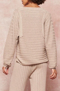 Beka Rib Knit Sweater