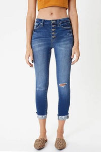 Joseph Mid Rise Cropped Ankle Skinny