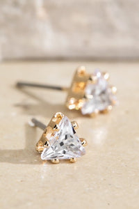 Simple Sparkle Trio Earring Set