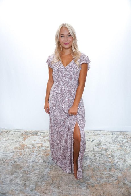 Dusty Maxi Dress - Sublime Clothing Boutique